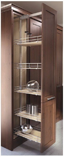 kitchen cabinet systems vauth sagel 90002173350s hsa 3 14 pantry 4 14inchinch silv bs 19678